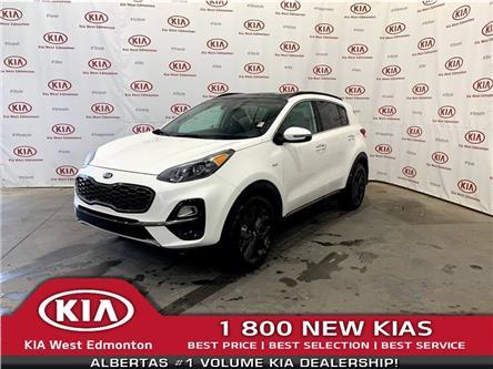 2021 Kia Sportage EX Premium S (Stk: 22682) in Edmonton - Image 1 of 33
