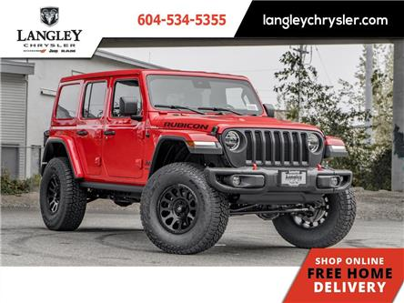 2021 Jeep Wrangler Unlimited Rubicon (Stk: M501169) in Surrey - Image 1 of 22