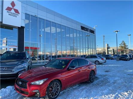 2018 Infiniti Q50 3.0t Red Sport 400 (Stk: BM3889) in Edmonton - Image 1 of 26