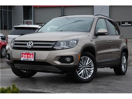 2016 Volkswagen Tiguan  (Stk: 201124) in Chatham - Image 1 of 21
