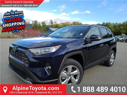 2021 Toyota RAV4 Hybrid Limited (Stk: W104311) in Cranbrook - Image 1 of 27