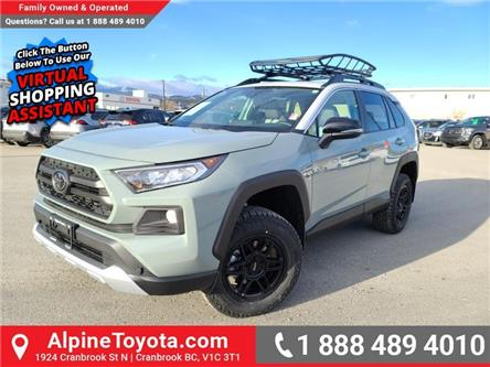 2021 Toyota RAV4 Trail (Stk: W156077) in Cranbrook - Image 1 of 28