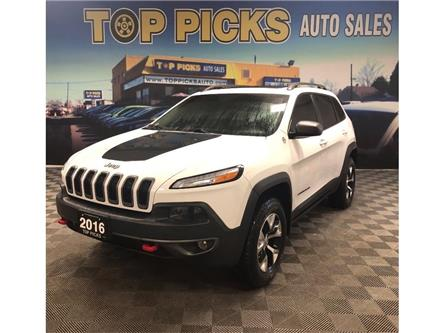 2016 Jeep Cherokee Trailhawk (Stk: 358789) in NORTH BAY - Image 1 of 28