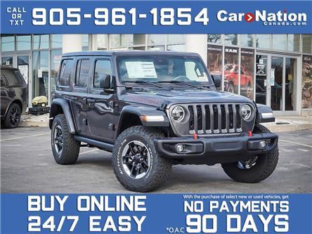 2021 Jeep Wrangler Rubicon Unlimited 4x4| NAVI| LEATHER| (Stk: NOU-M097) in Burlington - Image 1 of 23