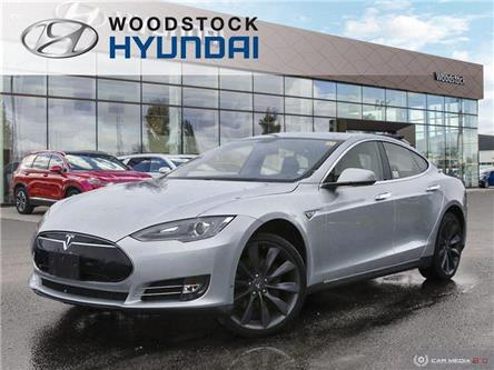2012 Tesla Model S  (Stk: P1574) in Woodstock - Image 1 of 22