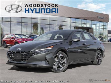 2021 Hyundai Elantra Ultimate w/Black Seats (Stk: EA21000) in Woodstock - Image 1 of 23