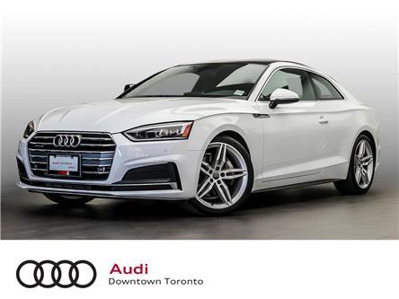 2018 Audi A5 2.0T Progressiv (Stk: P3865) in Toronto - Image 1 of 27
