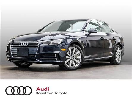 2018 Audi A4 2.0T Komfort (Stk: P4057) in Toronto - Image 1 of 27