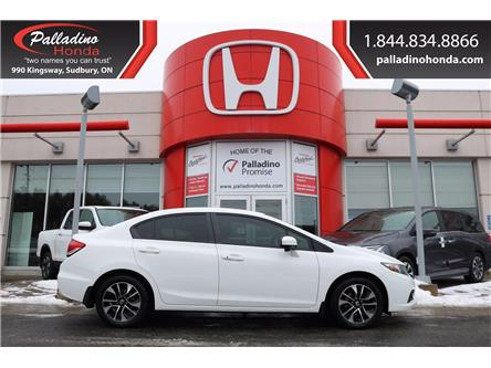 2014 Honda Civic EX (Stk: 22737A) in Greater Sudbury - Image 1 of 30