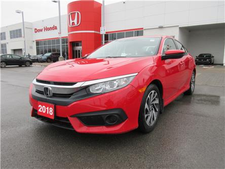 2018 Honda Civic EX (Stk: 28208L) in Ottawa - Image 1 of 18