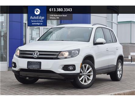 2017 Volkswagen Tiguan Wolfsburg Edition (Stk: A0439) in Ottawa - Image 1 of 28