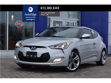 2014 Hyundai Veloster Tech (Stk: A0436) in Ottawa - Image 1 of 27