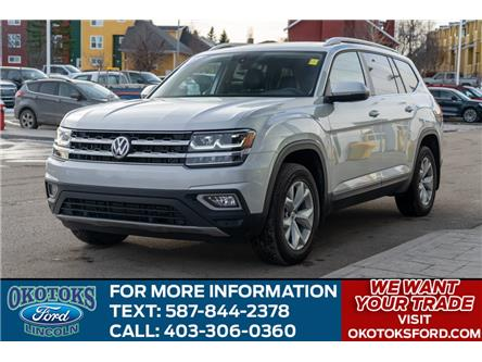 2018 Volkswagen Atlas 3.6 FSI Highline (Stk: B84025) in Okotoks - Image 1 of 25