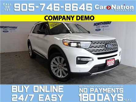 2020 Ford Explorer LIMITED | 4X4 | LEATHER | ROOF | UPGRADED RIMS (Stk: C095) in Brantford - Image 1 of 25