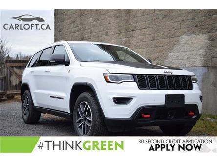 2021 Jeep Grand Cherokee Trailhawk (Stk: DP4141) in Kingston - Image 1 of 34