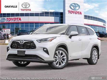 2021 Toyota Highlander Hybrid Limited (Stk: 21187) in Oakville - Image 1 of 23