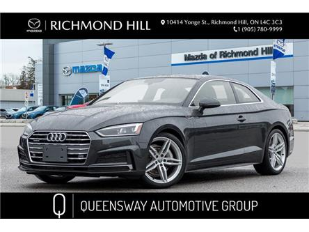 2018 Audi A5 2.0T Progressiv (Stk: P0559) in Richmond Hill - Image 1 of 22