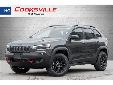 2021 Jeep Cherokee Trailhawk (Stk: MD132873) in Mississauga - Image 1 of 23
