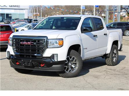 2021 GMC Canyon AT4 w/Cloth (Stk: 3142471) in Toronto - Image 1 of 33