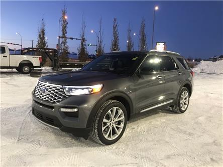 2021 Ford Explorer Platinum (Stk: MEX010) in Fort Saskatchewan - Image 1 of 23