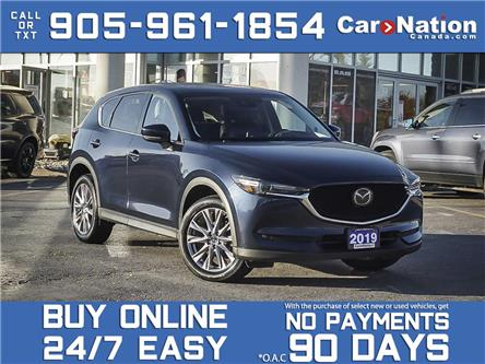 2019 Mazda CX-5 GT| AWD| LEATHER| SUNROOF| NAVI| (Stk: DRD3598) in Burlington - Image 1 of 36
