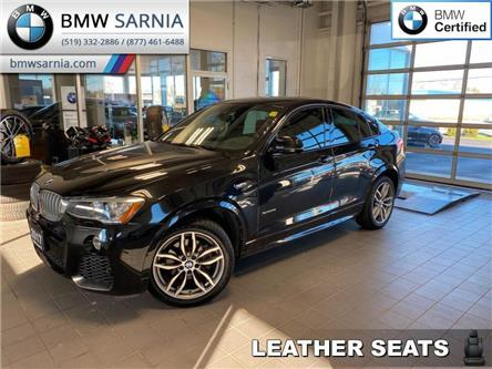 2017 BMW X4 xDrive28i (Stk: XU357) in Sarnia - Image 1 of 10