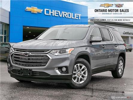 2021 Chevrolet Traverse LT Cloth (Stk: T1114300) in Oshawa - Image 1 of 18