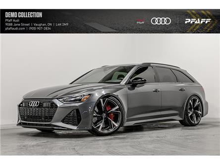 2021 Audi RS 6 Avant 4.0T (Stk: T18927) in Vaughan - Image 1 of 20