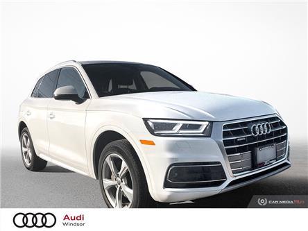2020 Audi Q5 45 Progressiv (Stk: 9879) in Windsor - Image 1 of 30