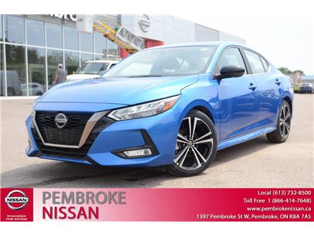 2020 Nissan Sentra SR (Stk: 20179) in Pembroke - Image 1 of 28