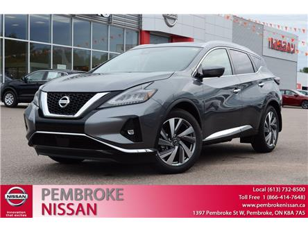 2020 Nissan Murano SL (Stk: 20175) in Pembroke - Image 1 of 30