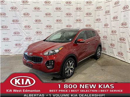 2017 Kia Sportage SX Turbo (Stk: 7646) in Edmonton - Image 1 of 28