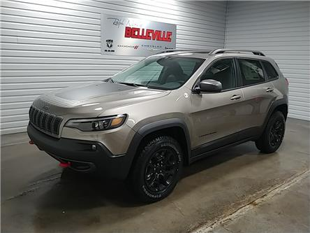 2021 Jeep Cherokee Trailhawk (Stk: 1037) in Belleville - Image 1 of 10