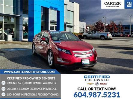 2014 Chevrolet Volt Base (Stk: 974660) in North Vancouver - Image 1 of 26