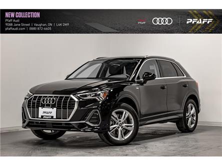 2021 Audi Q3 45 Progressiv (Stk: T18868) in Vaughan - Image 1 of 22