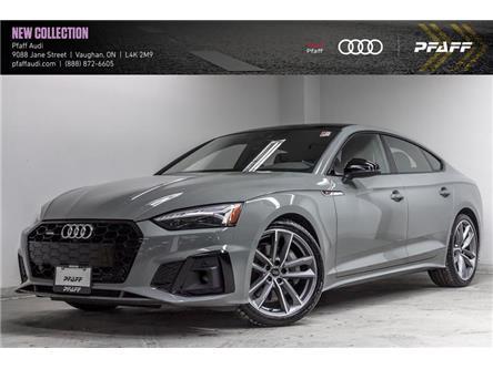 2021 Audi A5 2.0T Progressiv (Stk: T19038) in Vaughan - Image 1 of 22