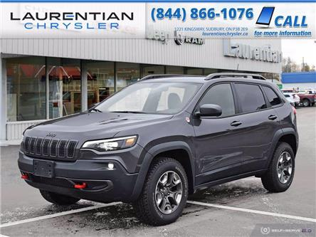 2020 Jeep Cherokee Trailhawk (Stk: 20379D) in Greater Sudbury - Image 1 of 25