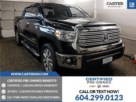 2016 Toyota Tundra Limited 5.7L V8 (Stk: P9-62990) in Burnaby - Image 1 of 25