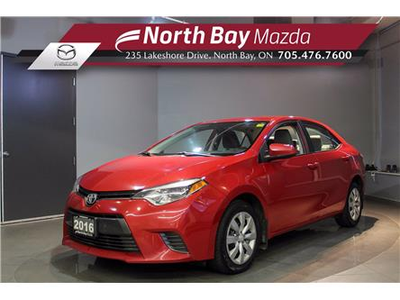 2016 Toyota Corolla LE (Stk: 2060A) in North Bay - Image 1 of 22