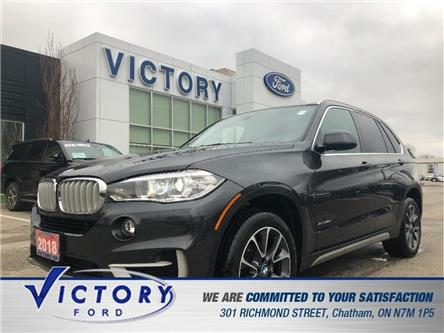 2018 BMW X5 xDrive35d (Stk: V9548) in Chatham - Image 1 of 26