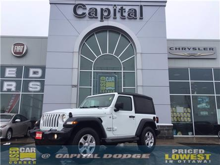 2018 Jeep Wrangler Sport (Stk: M00072A) in Kanata - Image 1 of 20
