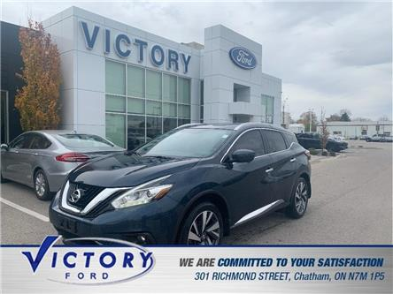 2016 Nissan Murano  (Stk: V10445A) in Chatham - Image 1 of 22