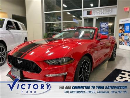 2020 Ford Mustang GT Premium (Stk: V10454CAP) in Chatham - Image 1 of 21