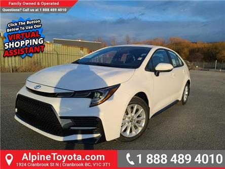 2021 Toyota Corolla SE (Stk: P070063) in Cranbrook - Image 1 of 21