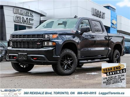 2021 Chevrolet Silverado 1500 Silverado Custom Trail Boss (Stk: 126159) in Etobicoke - Image 1 of 27