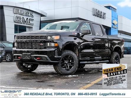 2021 Chevrolet Silverado 1500 Silverado Custom Trail Boss (Stk: 124292) in Etobicoke - Image 1 of 27