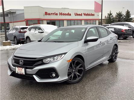 2017 Honda Civic Sport (Stk: U17876) in Barrie - Image 1 of 27