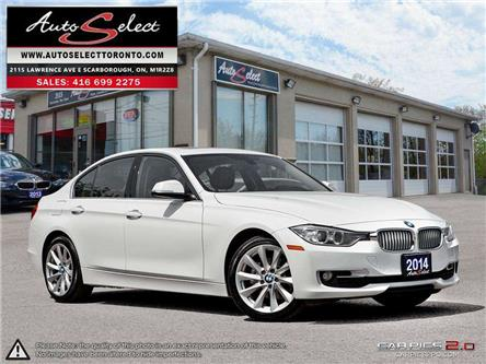 2014 BMW 320i xDrive (Stk: 1X4PL2A1) in Scarborough - Image 1 of 27
