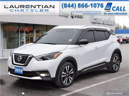 2019 Nissan Kicks SV (Stk: 21056A) in Sudbury - Image 1 of 25