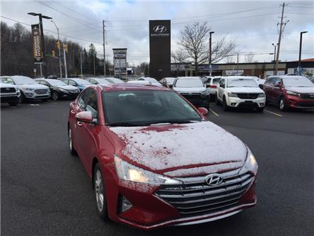 2020 Hyundai Elantra Preferred (Stk: P3614) in Ottawa - Image 1 of 11